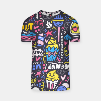 Thumbnail image of Dessert Universe T-shirt, Live Heroes