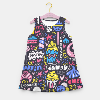 Thumbnail image of Dessert Universe Girl's summer dress, Live Heroes