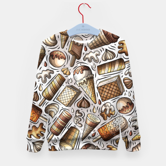 Thumbnail image of Ice Cream Universe Kid's sweater, Live Heroes