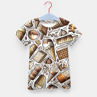 Thumbnail image of Ice Cream Universe Kid's t-shirt, Live Heroes