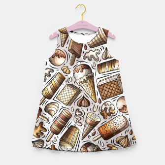 Thumbnail image of Ice Cream Universe Girl's summer dress, Live Heroes