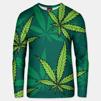 Thumbnail image of Hemp Pattern Unisex sweater, Live Heroes