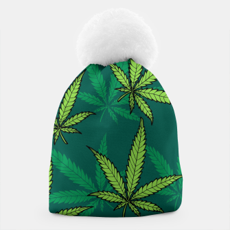 Thumbnail image of Hemp Pattern Beanie, Live Heroes