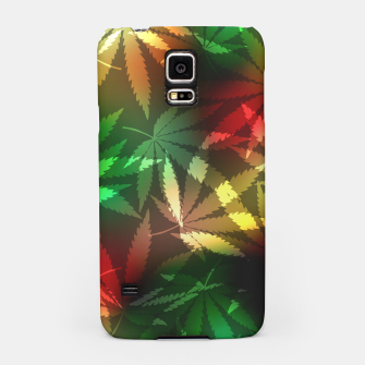 Thumbnail image of Colorful cannabis leaves Samsung Case, Live Heroes
