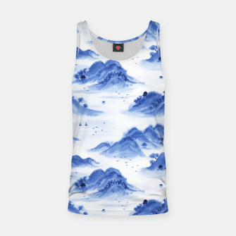 Thumbnail image of Morning in the Mountains Tank Top, Live Heroes
