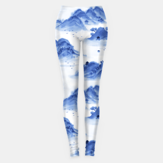 Thumbnail image of Morning in the Mountains Leggings, Live Heroes