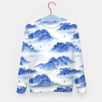 Thumbnail image of Morning in the Mountains Kid's sweater, Live Heroes