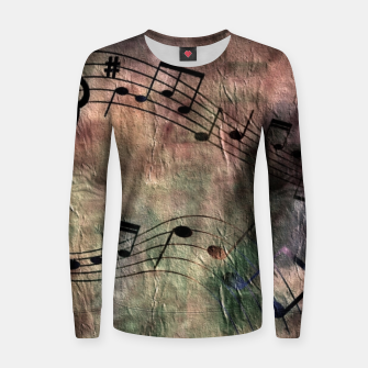 Miniaturka Abstract music 18A Women sweater, Live Heroes