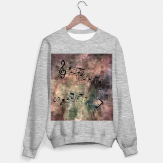 Miniaturka Abstract music 18A Sweater regular, Live Heroes
