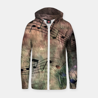 Miniaturka Abstract music 18A Zip up hoodie, Live Heroes