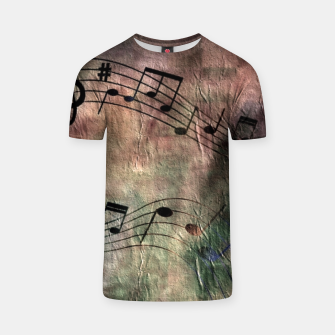Miniaturka Abstract music 18A T-shirt, Live Heroes