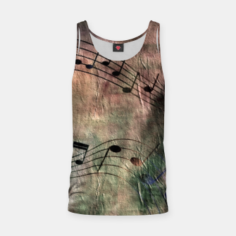 Miniaturka Abstract music 18A Tank Top, Live Heroes