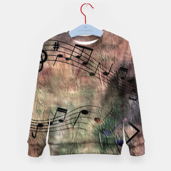 Miniaturka Abstract music 18A Kid's sweater, Live Heroes