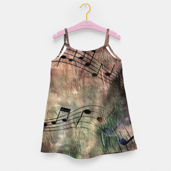 Miniaturka Abstract music 18A Girl's dress, Live Heroes