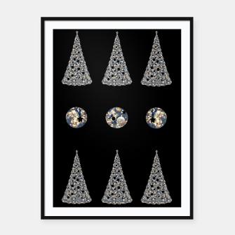 Thumbnail image of Oh Christmas Tree Framed poster, Live Heroes