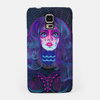 Aquarius Zodiac Art Galaxy Air Element Samsung Case thumbnail image