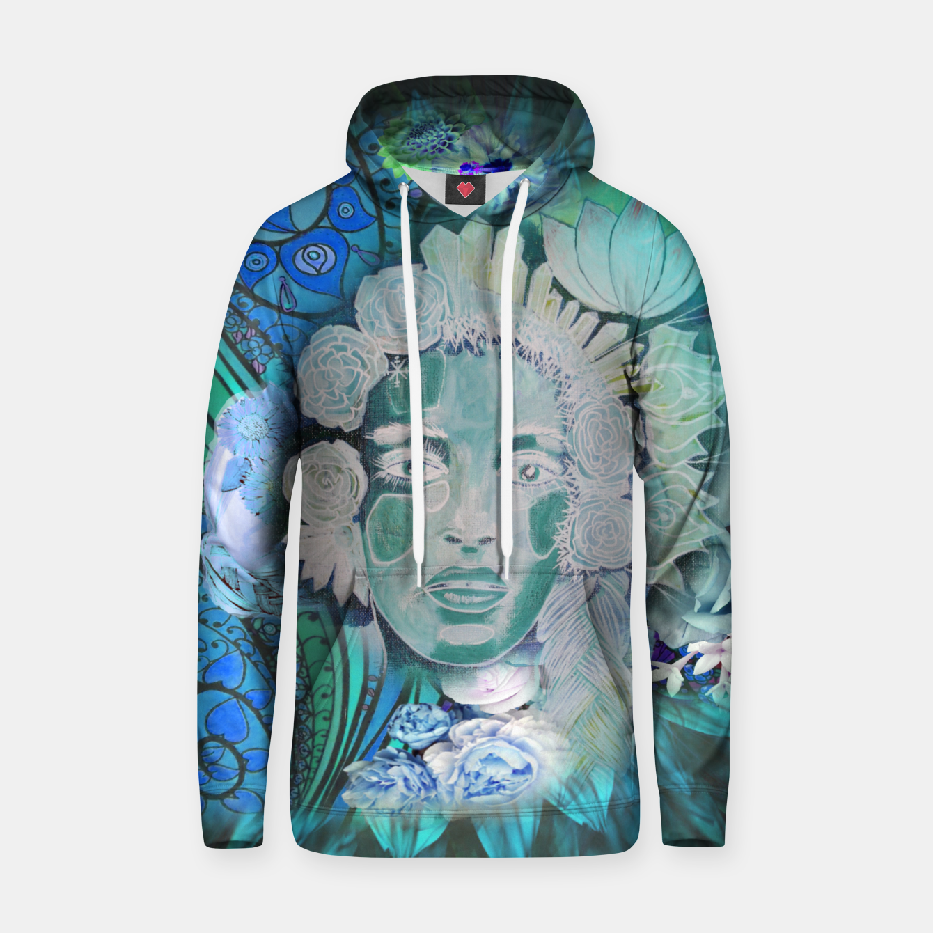 Image of Winter Girl Hoodie - Live Heroes