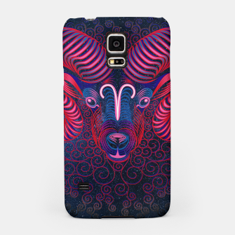Thumbnail image of  Aries Zodiac Art Galaxy Fire Element  Samsung Case, Live Heroes