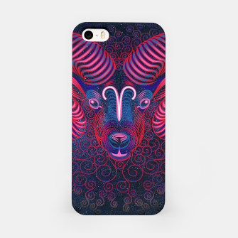 Thumbnail image of  Aries Zodiac Art Galaxy Fire Element  iPhone Case, Live Heroes