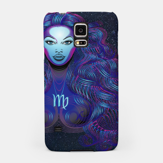 Thumbnail image of Virgo Zodiac Art Galaxy Earth Element  Samsung Case, Live Heroes