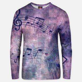Miniaturka Abstract music 18B Unisex sweater, Live Heroes