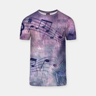 Miniaturka Abstract music 18B T-shirt, Live Heroes