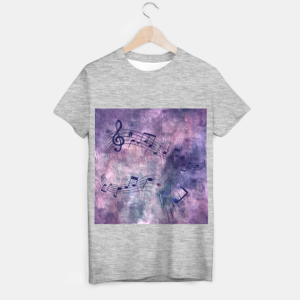 Miniaturka Abstract music 18B T-shirt regular, Live Heroes