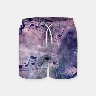 Miniaturka Abstract music 18B Swim Shorts, Live Heroes