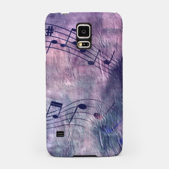 Miniaturka Abstract music 18B Samsung Case, Live Heroes