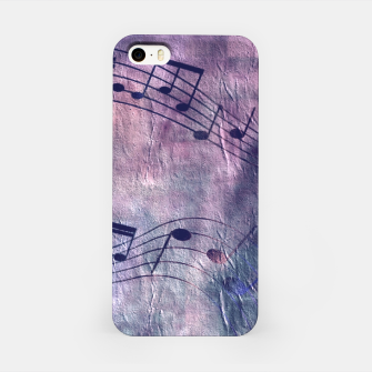 Miniaturka Abstract music 18B iPhone Case, Live Heroes