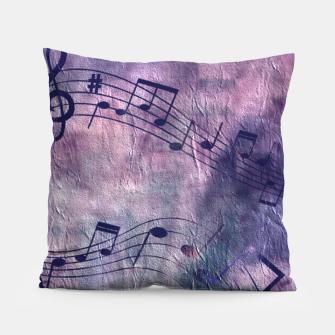 Miniaturka Abstract music 18B Pillow, Live Heroes