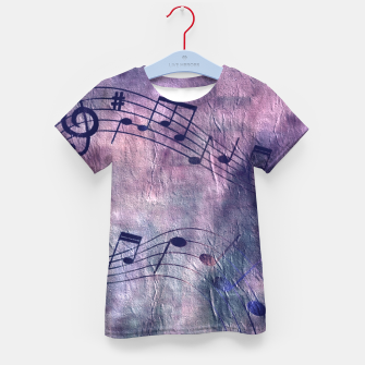 Miniaturka Abstract music 18B Kid's t-shirt, Live Heroes