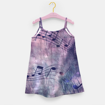 Miniaturka Abstract music 18B Girl's dress, Live Heroes