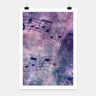 Miniaturka Abstract music 18B Poster, Live Heroes