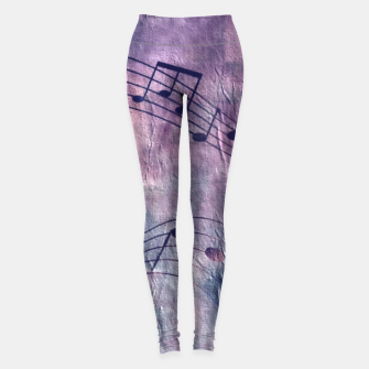 Miniaturka Abstract music 18B Leggings, Live Heroes
