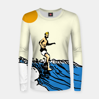 Thumbnail image of Surfer jack Women sweater, Live Heroes