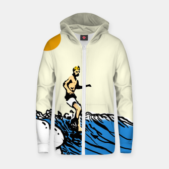 Surfer jack Zip up hoodie thumbnail image