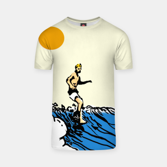Thumbnail image of Surfer jack T-shirt, Live Heroes