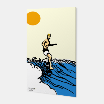 Thumbnail image of Surfer jack Canvas, Live Heroes