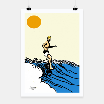 Thumbnail image of Surfer jack Poster, Live Heroes