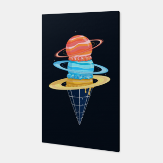 Thumbnail image of Space-Time Cone-Tinuum Canvas, Live Heroes