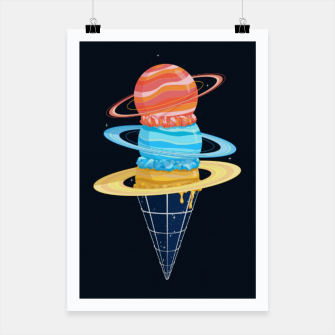 Thumbnail image of Space-Time Cone-Tinuum Poster, Live Heroes