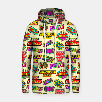 Miniaturka Funky pattern #09 (dope, straight fire, funky, hot, deal with it, crazy, awesome, etc) Hoodie, Live Heroes