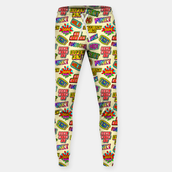 Thumbnail image of Funky pattern #09 (dope, straight fire, funky, hot, deal with it, crazy, awesome, etc) Sweatpants, Live Heroes
