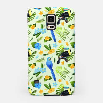 Thumbnail image of Flower Tucan Parrot Samsung Case, Live Heroes