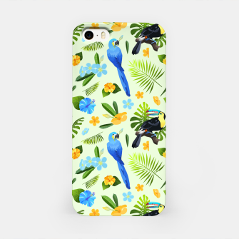 Thumbnail image of Flower Tucan Parrot iPhone Case, Live Heroes