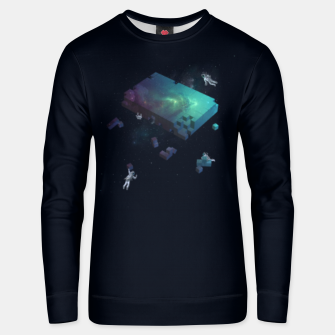 Thumbnail image of Constructing the Cosmos Unisex sweater, Live Heroes