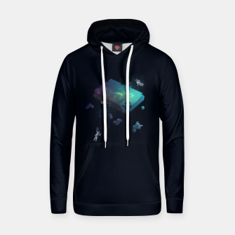 Thumbnail image of Constructing the Cosmos Hoodie, Live Heroes