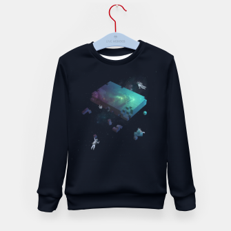 Thumbnail image of Constructing the Cosmos Kid's sweater, Live Heroes