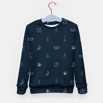 Thumbnail image of Science! Kid's sweater, Live Heroes